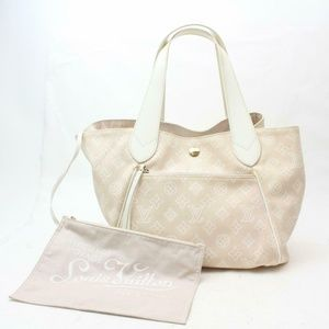 Auth Louis Vuitton Cabas Ipanema Gm Bag #1089L20
